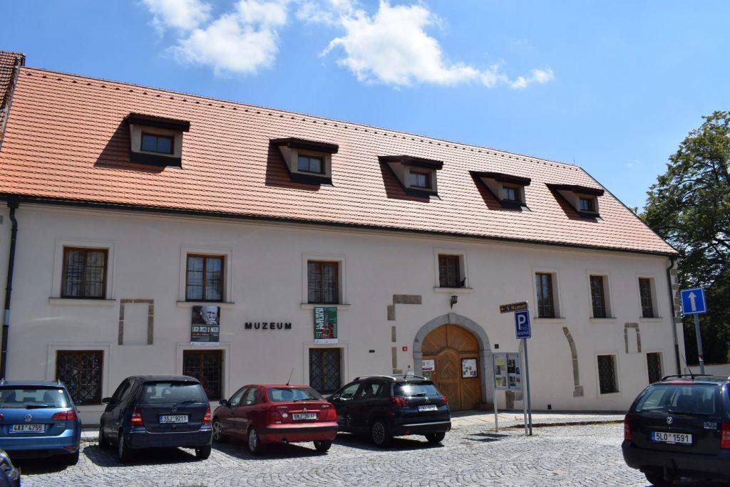 Stavebněhistorický průzkum sídla Regionálního muzea v Jílovém u Prahy